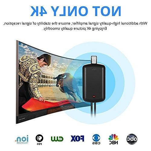 Antenna for HD Digital TV Antenna with Miles Long Range, & Older for Indoor HDTV