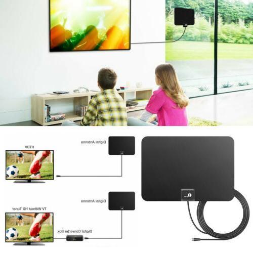 antenna hdtv indoor 1080p 4k hd thin