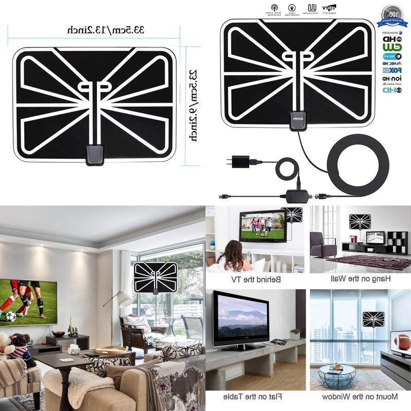Antenna Tv Digital Hd 200 Mile Range Skywire Tv Antenna For