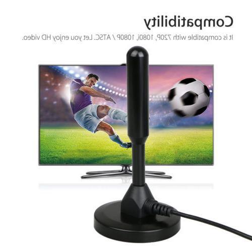 Antenna Digital 200 Miles 1080P Signal Booster Amplifier HDTV