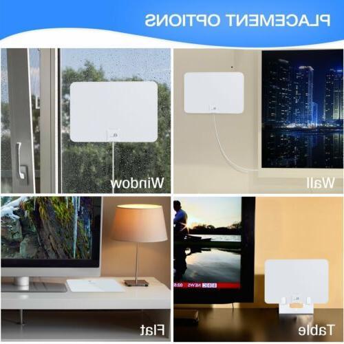 1byone HD Digital TV Amplified Skywire TV 1080P 4K