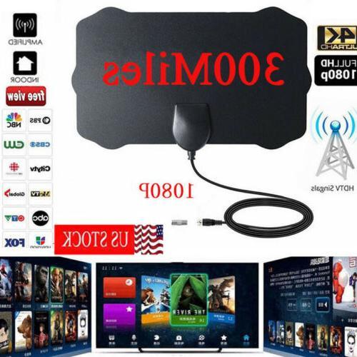 antenna tv digital hd 300 mile range