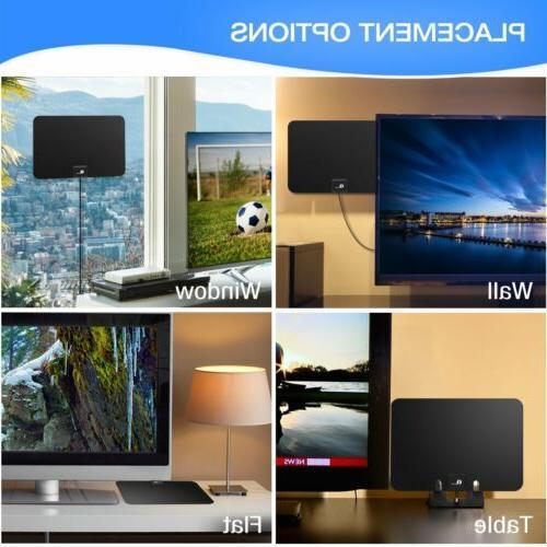 1byone Amplified Digital Indoor HDTV Gain VHF FM