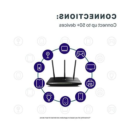TP-Link AC1750 Router Dual Band Gigabit Wireless for Home, Alexa,