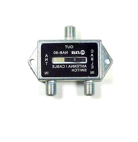 Coaxial Antenna Cable CATV Switch