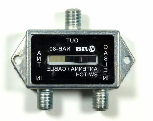 coaxial a b game antenna