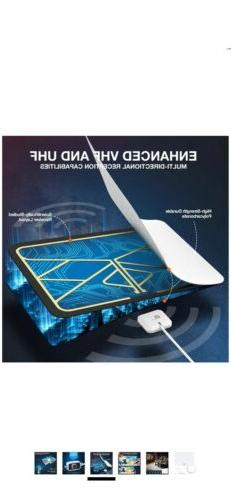 1byone Free HDTV 1080P TV Antenna Digital Signal Amplified f