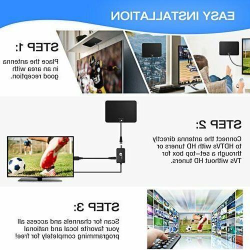 1byone Digital Amplified Indoor HD to 80 Ran