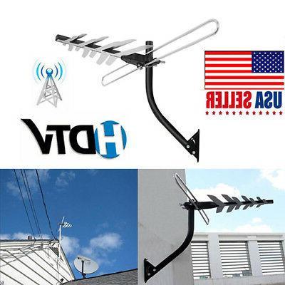 digital amplified outdoor full hdtv antenna 200miles