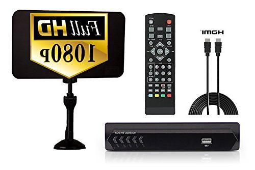 Digital Converter Box Flat Cable for Recording Watching HD Digital Channels