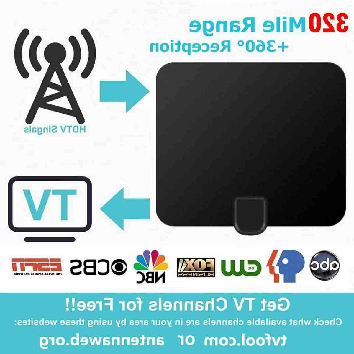 SUPER HDTV VHF MILES INDOOR