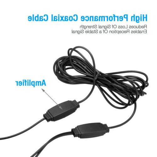 Digital Indoor Antenna Amplifier Miles Range 4K