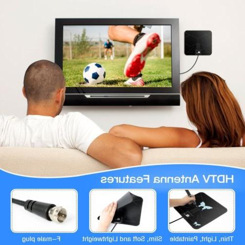 1Byone TV UHF/VHF/FM 50miles Black/White Color