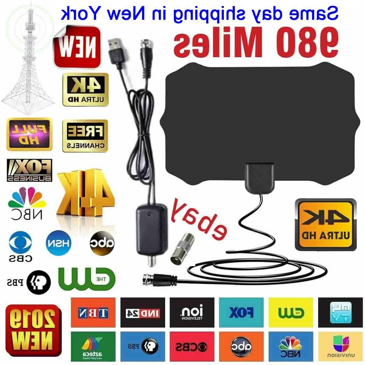 tv antenna digital hd tv amplified mile