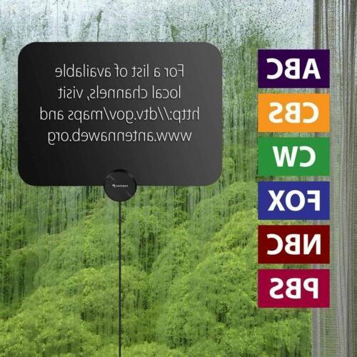 Digital TV 100 Signal Amplifier HDTV Thin