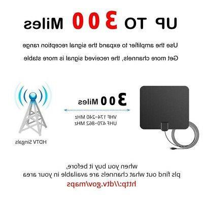 TV Antenna 980 Miles Range Signal Amplifier HD