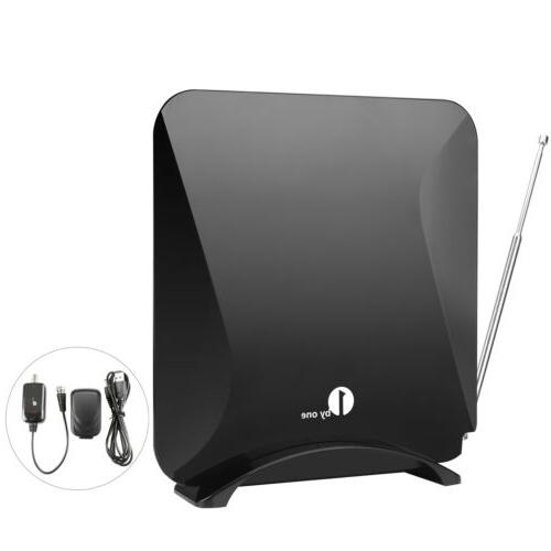 1byone Antenna Digital Indoor High Gain with Signal Amplifier