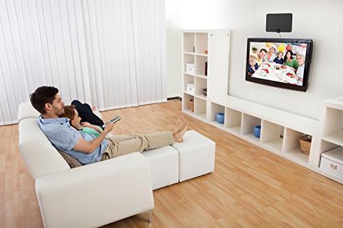 ViewTV Mile Digital Amplified HDTV Amplifier - 10 FT Copper Black