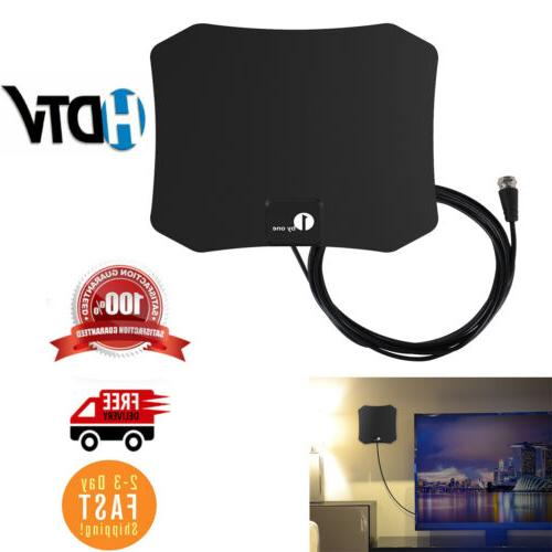 1byone Indoor Paper Thin Amplified 1080P HDTV Digital Antenn