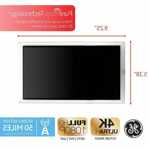 flat panel crystal amplified indoor