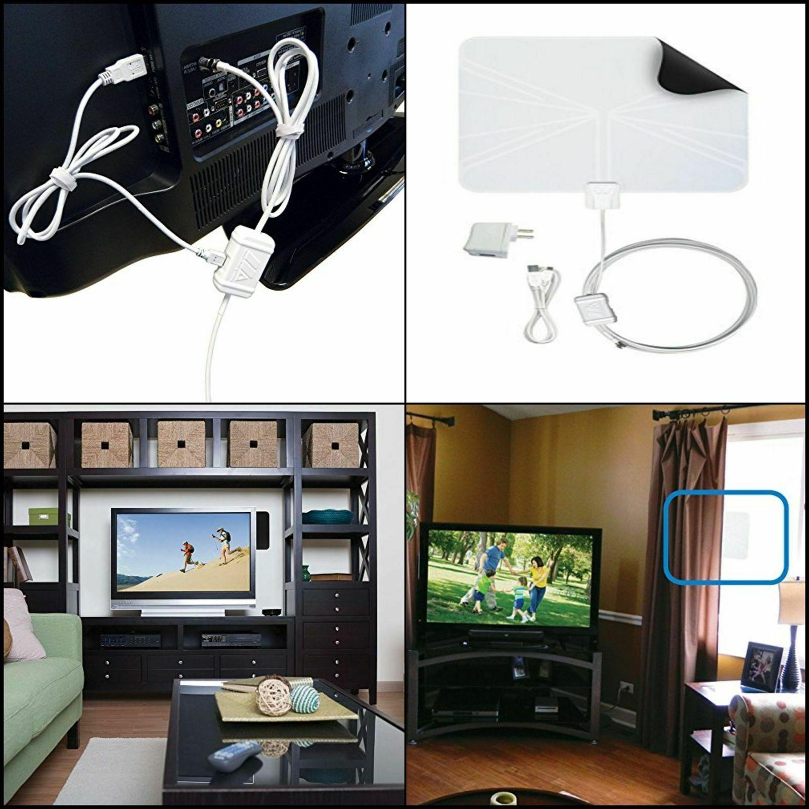 FlatWave Amped FL5500A Amplified Digital Indoor HD TV Recept