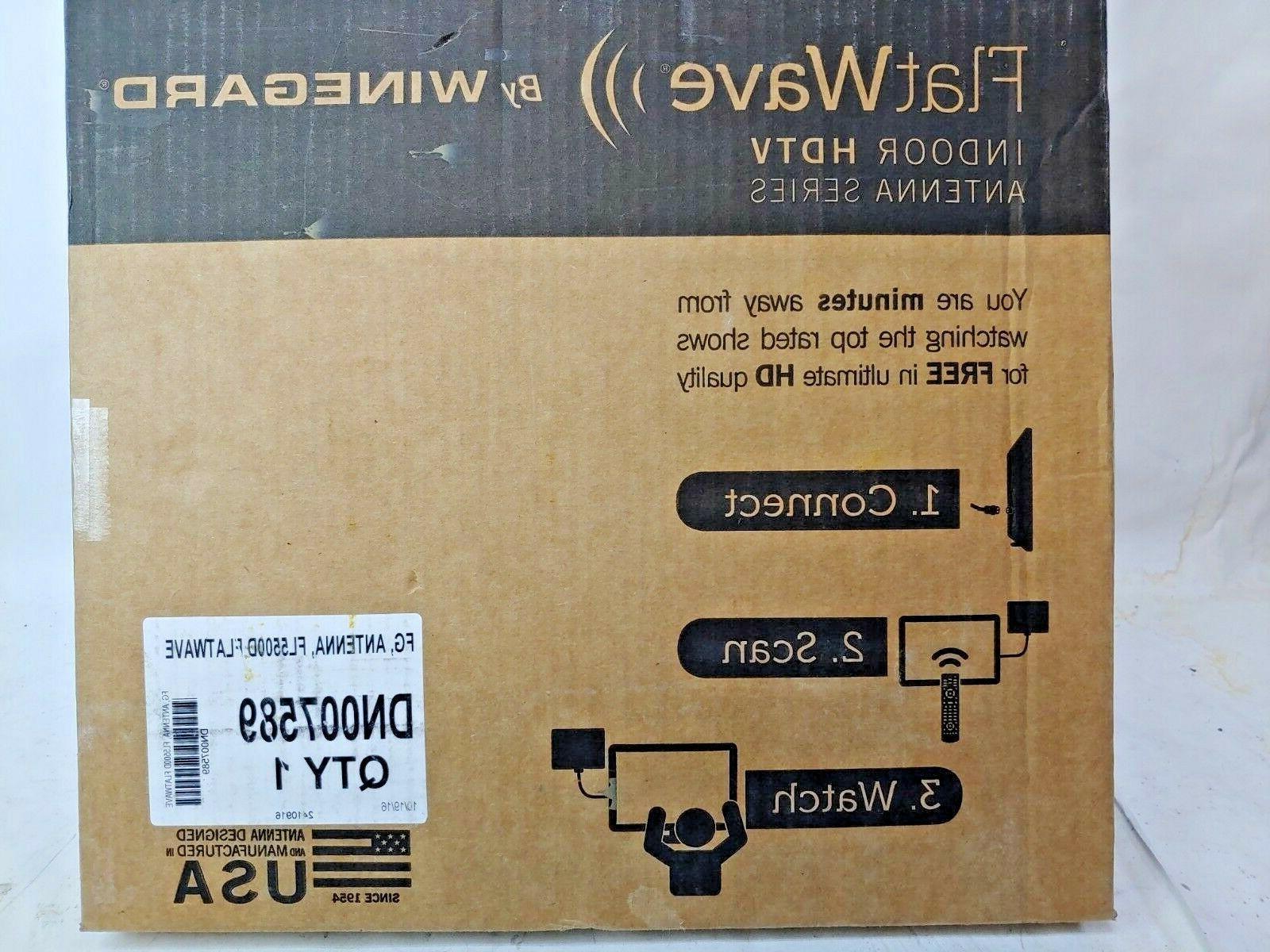 flatwave amped fl5500d digital hd indoor amplified