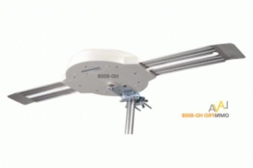 LAVA HD-8008 360 HDTV AMPLIFIED TV VHF/UHF