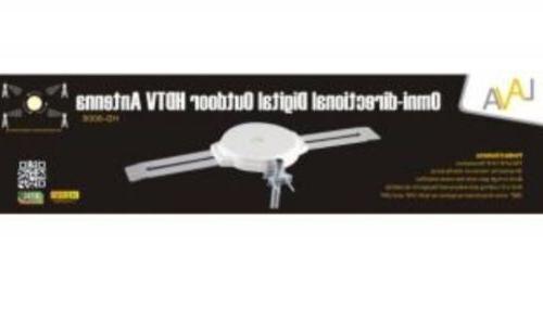 LAVA HDTV AMPLIFIED TV ANTENNA HD VHF/UHF