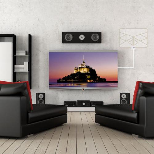 1Byone HD TV 1080P HDTV Miles Indoor with Skywire