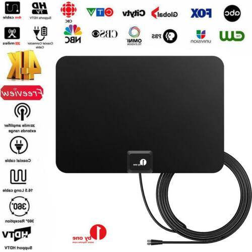 hd tv antenna indoor 1080p 4k 35miles