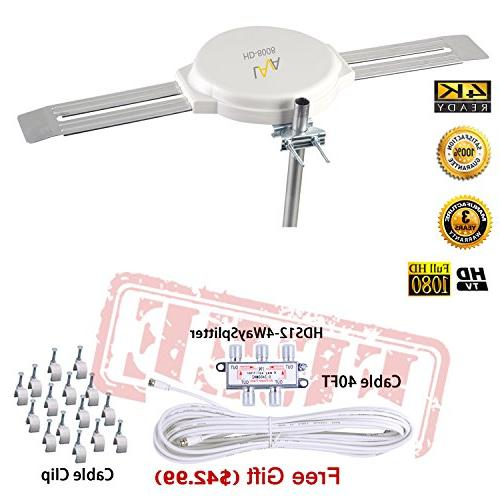 hd8008 omnidirectional tv