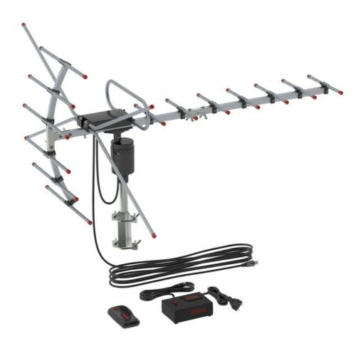 200Miles 1080P Amplified HDTV Long VHF/UHF