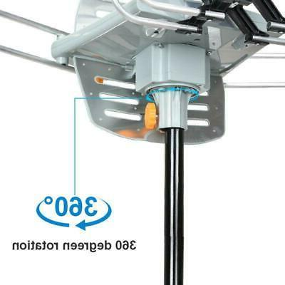 HDTV TV Antenna 360 Rotation Outdoor With