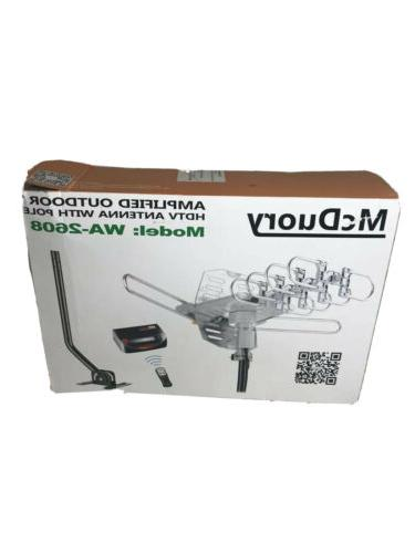 hdtv antenna amplified range