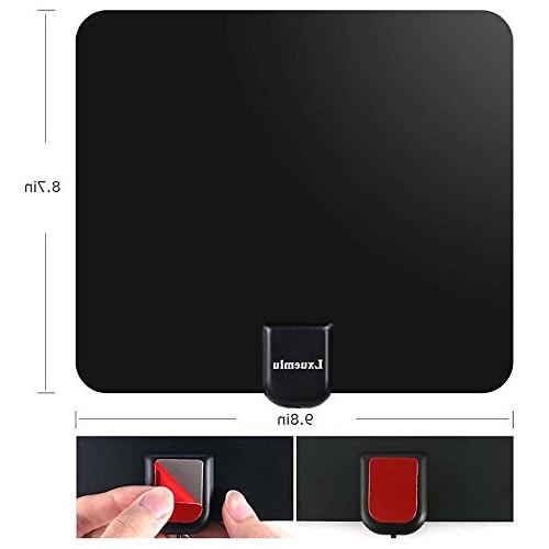 Lxuemlu HDTV Antenna Digital TV Miles Rang HD Antenna with Booster Coaxial Cable - Reception