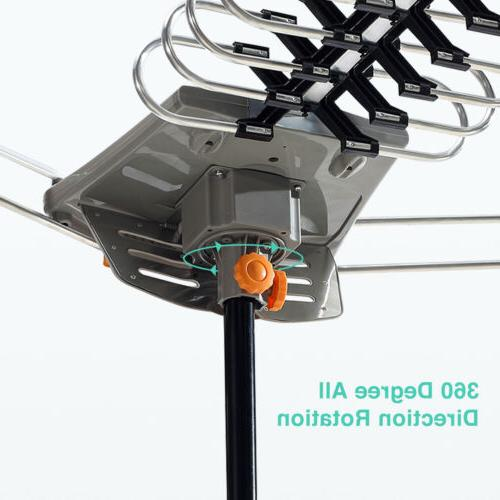 Amplified Antenna Range Flat HD with Miles Indoor
