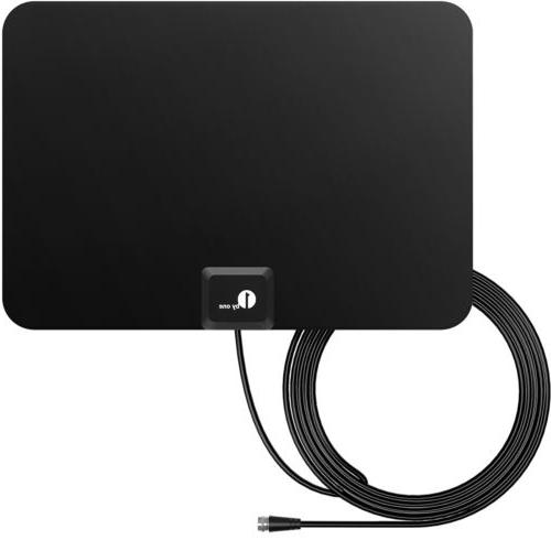 1Byone HD TV Antenna Indoor 1080P 4K 35Miles Ultra Thin Sign