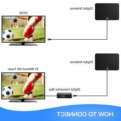 1byone 1080P 4K Indoor TV Digital CD UHF