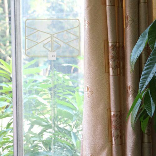 1byone Indoor Amplified TV Antenna FM/VHF/UHF