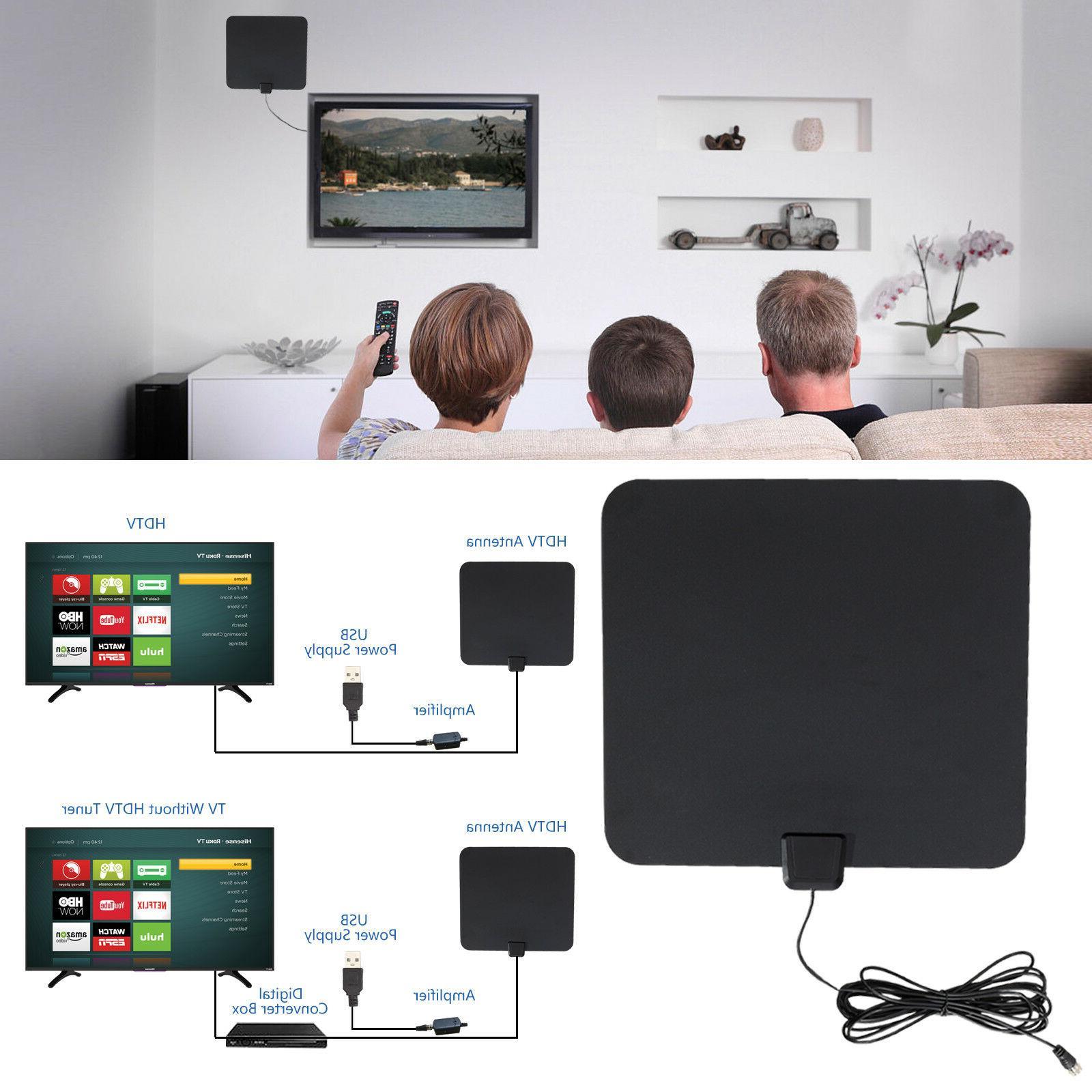 Indoor TV HD Digital Miles Flat Amplifier