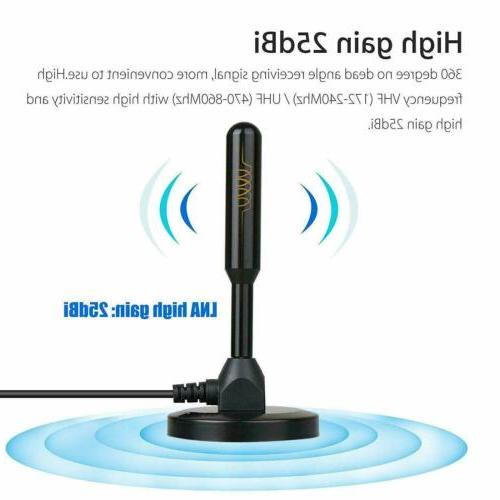 Indoor Antenna 200 Miles 1080P HDTV