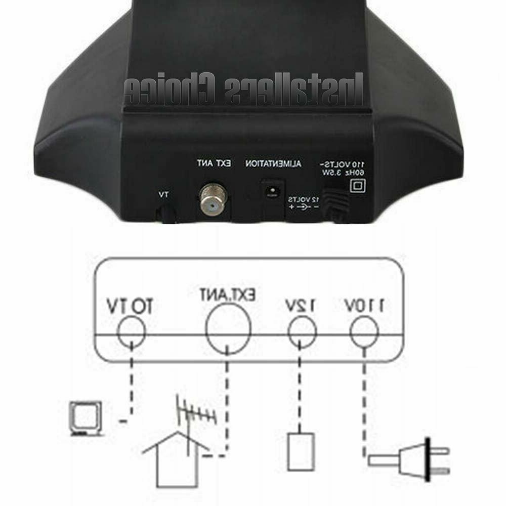 Indoor Table Amplified HDTV UHF VHF