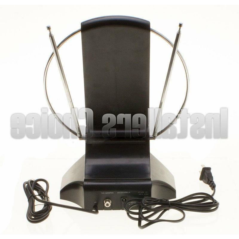 Indoor Digital TV Table Amplified HDTV VHF FM