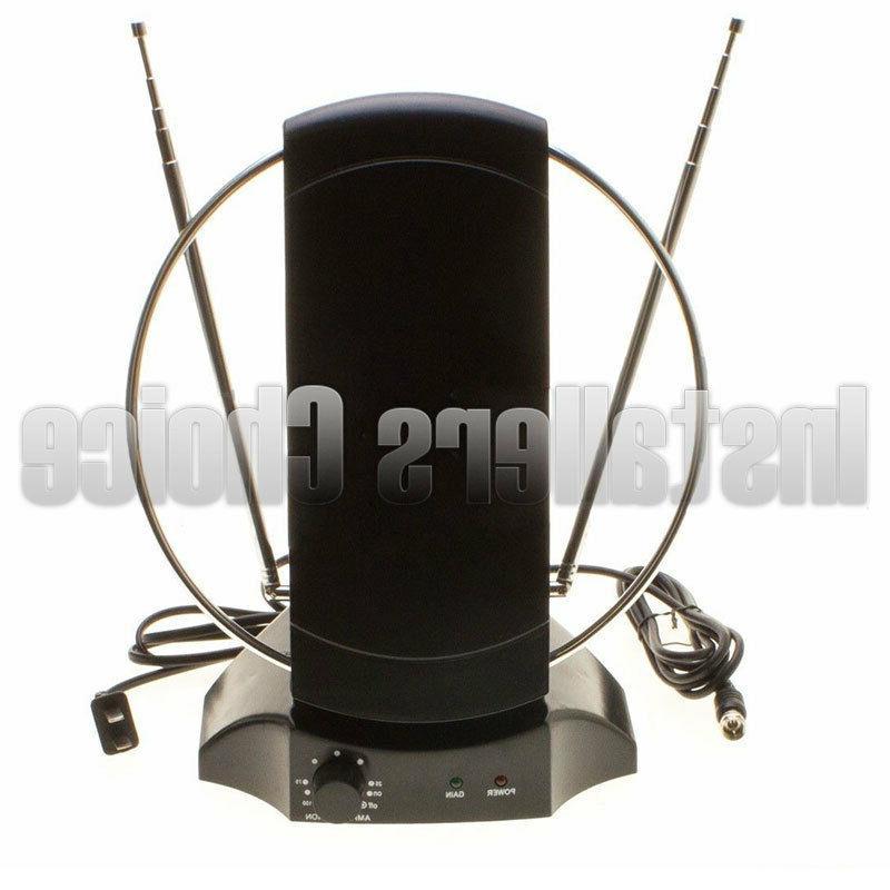 indoor digital tv antenna table amplified signal