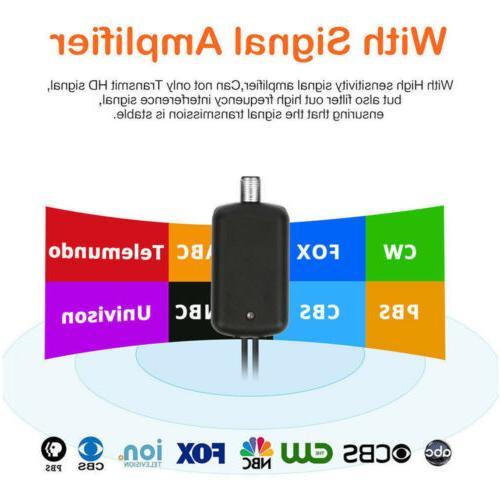 Indoor Amplified HDTV TV HD Antenna 300 1080P
