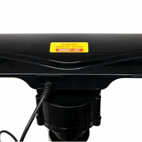 Long Range Miles Outdoor Amplified TV Antenna High Gain UHF/VHF/FM