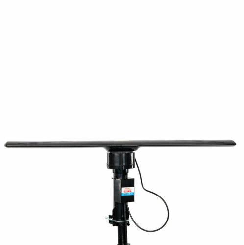 Long Range Outdoor Amplified HD Antenna High UHF/VHF/FM