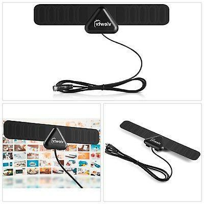mini flat hd digital indoor tv antenna