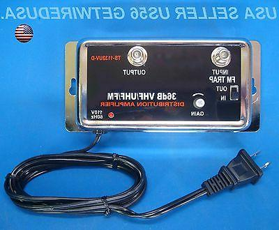 new 36db cable tv antenna inline booster