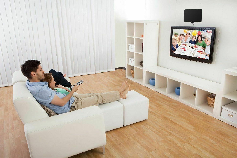 Digital Antenna 450 Miles Range Signal Booster Amplifier HDTV 4K 1080P